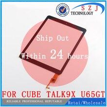 Новый 9.7 «дюймов для Cube talk9x u65gt 32 ГБ черный говорить 9x планшета сенсорный экран Панель Стекло сенсорный заменить Бесплатная доставка