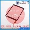 Original 9 7 Inch Touch Screen For Cube Talk9X U65GT 32GB Black Talk 9X Digitizer Panel