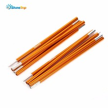16mm*2m 2 Pcs/lot Tent Rods Outdoor C&ing Tent Poles Aluminum Alloy Mending  sc 1 st  AliExpress.com & Buy tent pole bag and get free shipping on AliExpress.com