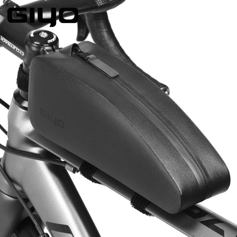 Top Front tube double pocket bike bag Cycling Bicycle Bike Frame Pannier Saddle