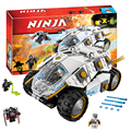 Bela 10523  Ninjagoe Titanium Ninja Tumbler Blocks Brick Toys Set Boy Game Compatible with Decool Lepin LEGOelids 70588