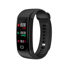 Sensible Wristband Bluetooth USB Charging Colour LCD Warmth Charge Blood Stress Monitor Pedometer Message Push Sleep Health Tracker