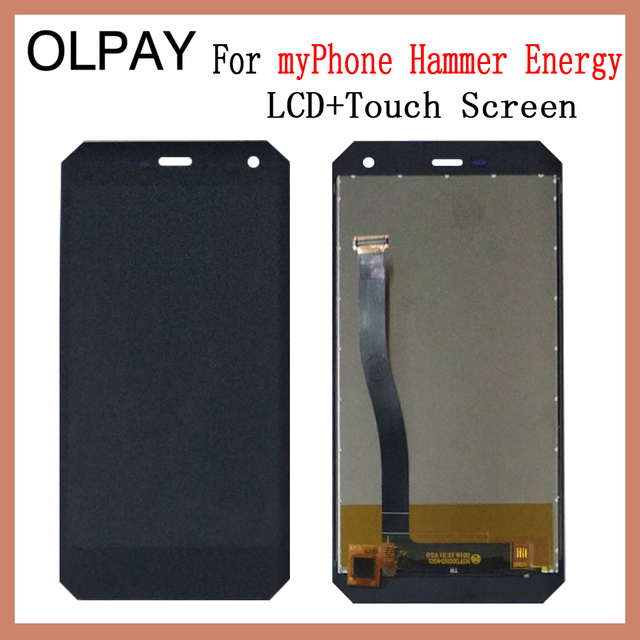 OLPAY 5.0 New Original For myPhone Hammer Energy CellPhone LCD Display + Touch Screen Digitizer Assembly Replacement Glass