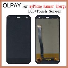OLPAY 5.0 Nuovo Originale Per myPhone Martello di Energia Cellulare Display LCD + Touch Screen Digitizer Assembly Vetro di Ricambio