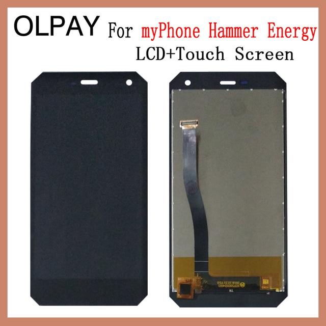 OLPAY 5.0 חדש מקורי עבור myPhone פטיש אנרגיה נייד LCD תצוגה + מסך מגע Digitizer עצרת החלפת זכוכית