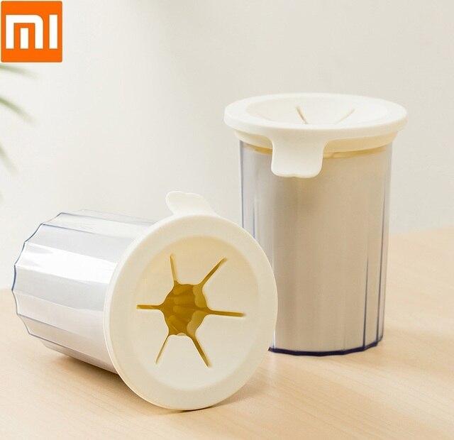 Щетка Xiaomi для мытья питомцев, безопасный и мягкий силикон, легко чистится, ведро для мытья кошек и собак, для дома