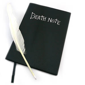 Writing Journal Book Note-Planner Dead-Note Anime Diary Death Cosplay Large Cartoon Lovely