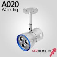 Cree COB LED Ceiling Mounted Spotlight Aluminium Lamp Focusable Zoomable Triac Dimmable Commecial Museum art gallery lighting|Track Lighting|Lights & Lighting -