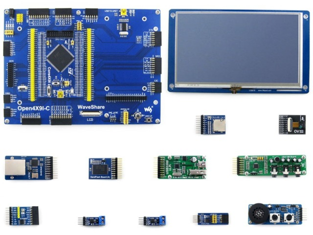 STM32 Development Board STM32F429IGT6 STM32F429 ARM Cortex M4 STM32 Core Board+7inch Capacitive LCD+Module Kits