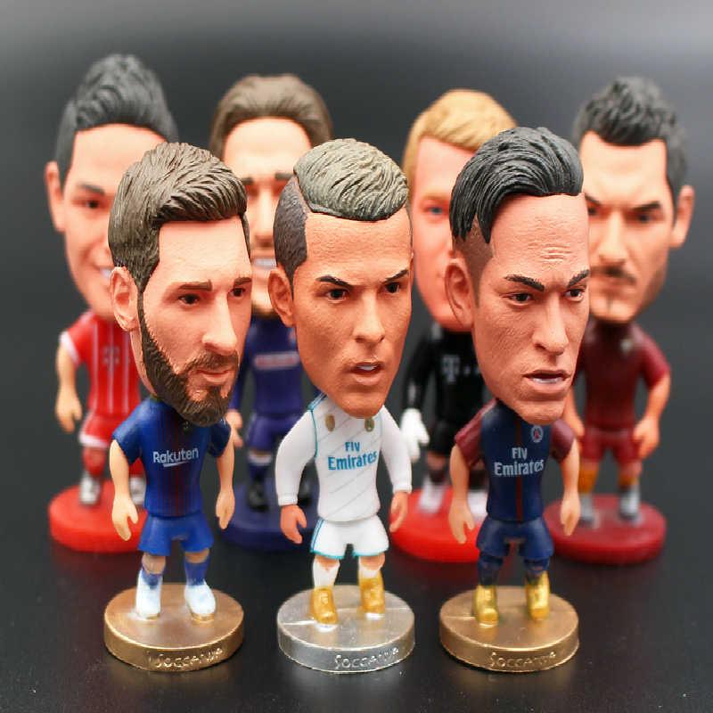 da378fe46918 Новых поклонников Сувениры куклы кукла Футбол манекен оптовая продажа  мини-футбольные мячи Star подходит для