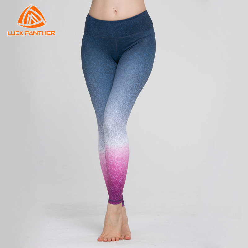 LUCK PANTHER Women Leggings For Yoga Compression Pant Lady Sports Gym Tights Sportswear Leggings Fitness Slim Mesh Yoga Pants K