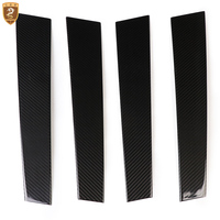 Carbon Fiber Window Column B Pillars For Porsche 970 Panamera 2011 2012 2013 2014 2015 2016 Auto Accessories Car Styling