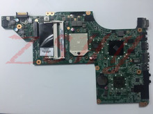 for HP PAVILION DV6 DV6-3000 laptop motherboard AMD DDR3 595133-001 Free Shipping 100% test ok free shipping 665341 001 for hp pavilion dv6 dv6 6000 dv6t motherboard hd6770 2g all functions 100