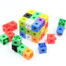 Игрушки-головоломки Обучающие кубики Обучающие повседневные комбинации счетные самостоятельные головоломки обучающая игрушка подарок