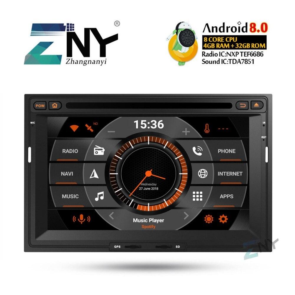 7 HD Android 8.0 dvd de voiture Pour Citroen Berlingo Peugeot Partner auto-radio FM RDS Stéréo navigation gps Audio Vidéo caméra de recul