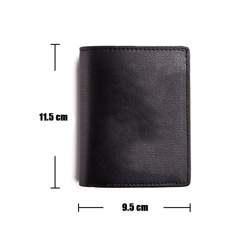 MeanCat Steam PC Game PU Leather Wallet ACG Value Black Short and Long Wallet with Interior Pockets