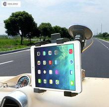 Universal 7″-10″ Car Cradle Bracket Windshield Stand for iPad Air 2 Mini4 Tablet PC Holder 360 Rotating Support GPS/DVD