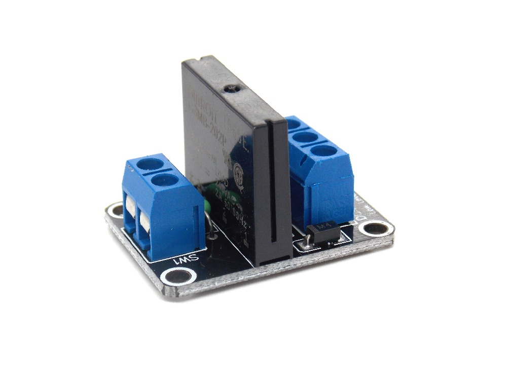 5V 1 Channel OMRON SSR Low Level Solid State Relay Module 240V 2A For Arduino