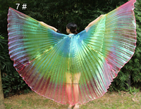 2016 New Arrivals Cheap High Quality Egyptian Women Belly Dance Costume Isis Wings Fast Delivery On