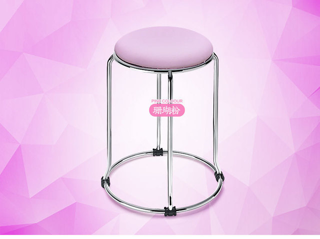 office stool living room footrest pink red black blue purple ect ...