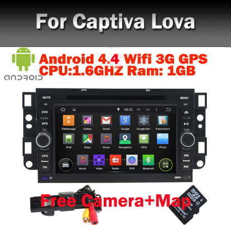android 4 4 4 car pc for chevrolet captiva epica wifi 3g bluetooth radio usb ipod sd 1 6ghz 1gb. Black Bedroom Furniture Sets. Home Design Ideas