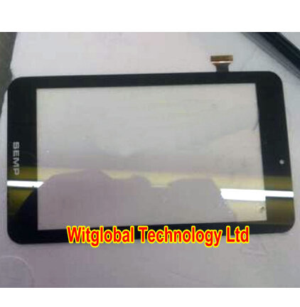 Original New 7 SEMP TABLET TA0705G Capacitive touch screen panel Digitizer Glass Sensor Replacement Free Shipping