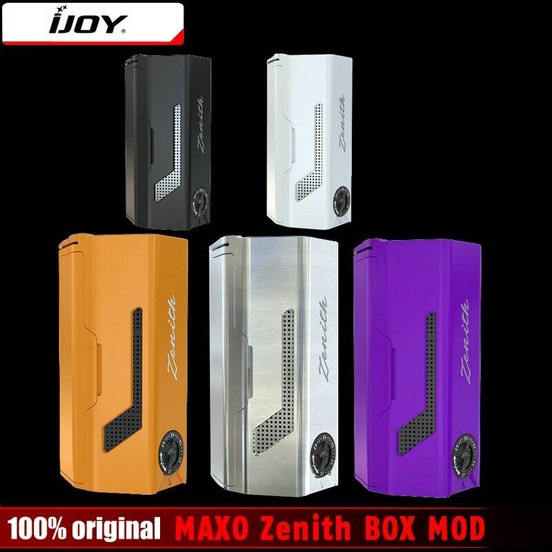 Original 300 Watt IJOY MAXO Zenit BOX MOD 510 Watt/IWEPAL Chip MAXO Zenit für IJOY MAXO V12 Tank elektronische Zigarette Mod