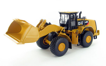 Diecast Toy Model Norscot 1:50 Caterpillar CAT 980K Engineering Machinery Wheel Loader 55289 for Boy Gift,Collection,Decoration