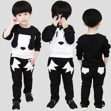 2016 Baby Girl Clothes Fashion Cotton Long Sleeve T-shirt+pants bunchems 2pcs Suit Newborn Baby Boys Girls Clothing Sets