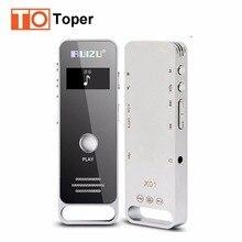 RUIZU X01 Deporte Reproductor de MP3 Mini Reproductor de Música MP3 Portátil Ocultos de Audio Digital Grabadora de Voz Pluma 8 GB Dictáfono de la Conferencia MP3