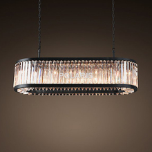 Modern Vintage Crystal Chandelier Lighting Pendant Hanging Light RH Chandeliers Lamp for Home Villa Decor by Polaris Lighting