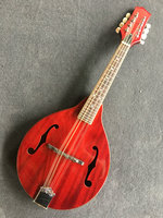 Mandolin M1 western ethnic Musical Instruments Mandolin wholesale Mandolin guitar red color