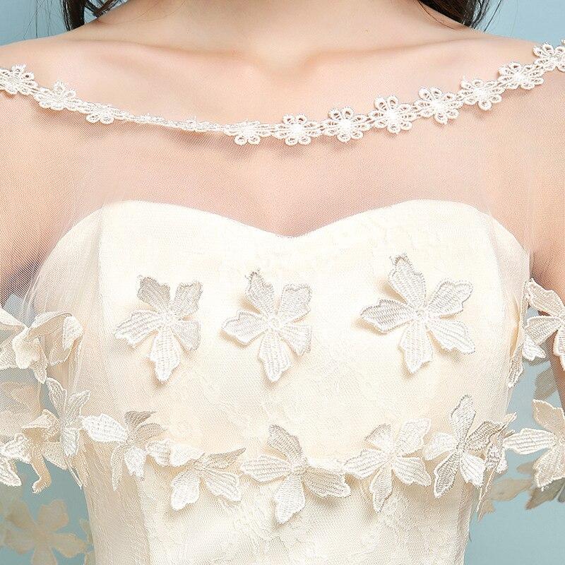 Beste Champagner Farbe Brautjungfer Kleid Galerie - Brautkleider ...