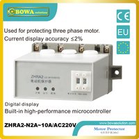Motor Protector For Protecting Three Phase Motor Applied In Freezer ZHRA2 N2A 10A