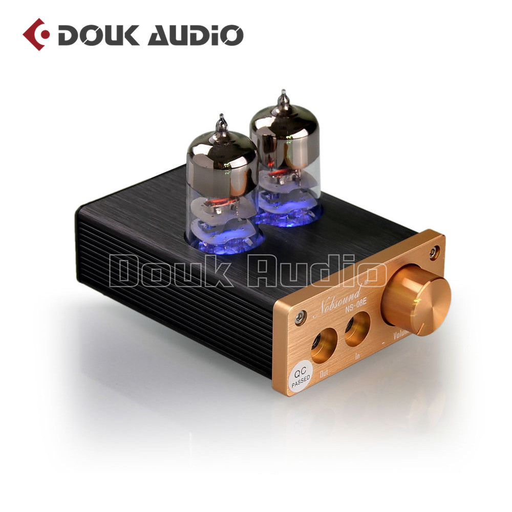 2018 Nobsound Lastest 6J9 Vacuum Tube Integrated Amplifier Mini Audio HiFi Stereo Headphone Earset Amp Free Shipping 5pcs led strip connector 2pin 8mm 10mm l t x shape quick splitter right angle free welding connector for single color led strip