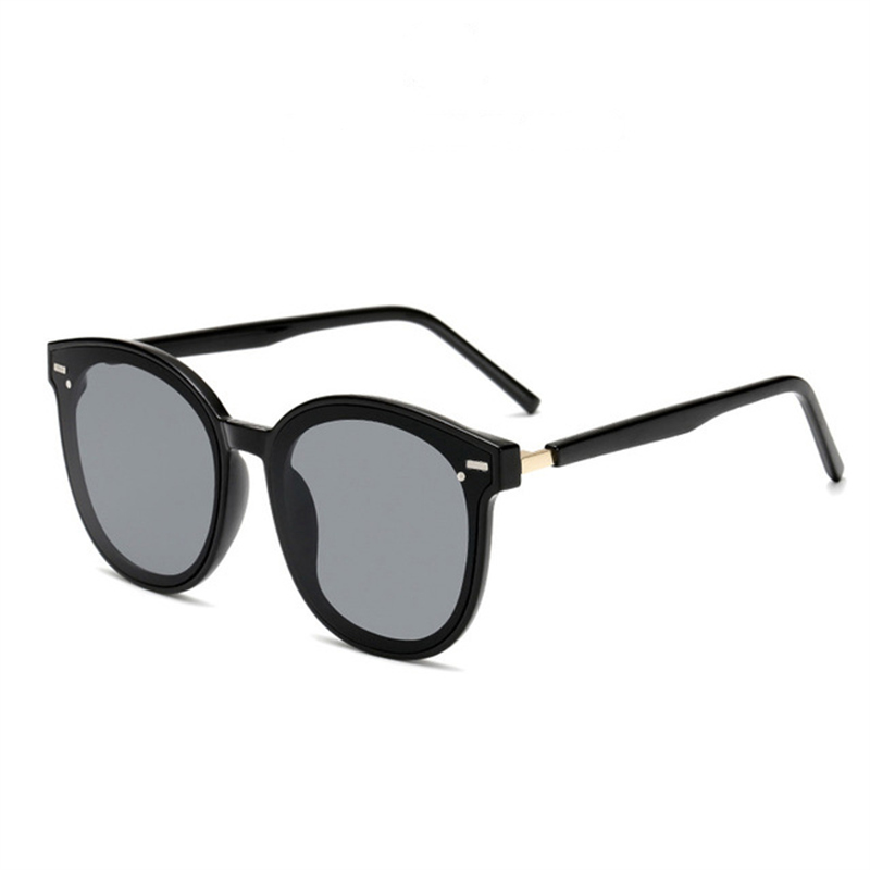 2019 New Korean GM Star Nethong with the same round faced women RETRO SUNGLASSES V brand anti ultraviolet Sunglasses in Women 39 s Sunglasses from Apparel Accessories
