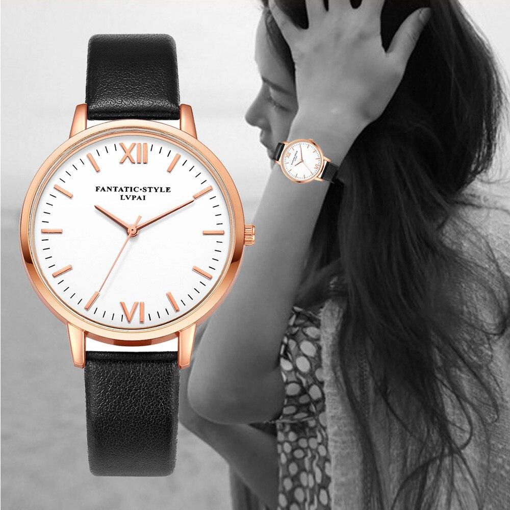 Splendid Fashion Watch Ladies Retro Design Leather Band Women Business Clock Analog Alloy Quartz Wrist Watch splendid mens retro design leather band analog alloy wrist watch quartz watch