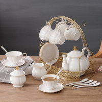 Ceramic coffee cup family brief English afternoon tea tea with European Cup of tea cups