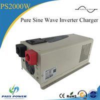 Best Design Off Grid 2000w Pure Sine Wave Inverter Charger For Home Solar System Use