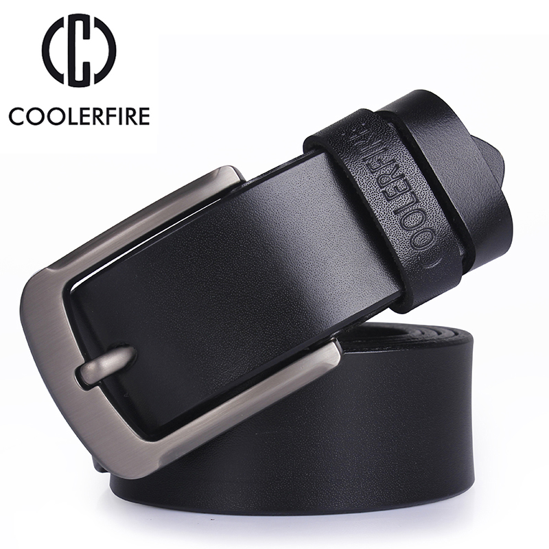 men's genuine leather belt luxury designer belts men high quality Male Metal Buckle belt for jeans Cowskin Fashion Cummerbunds