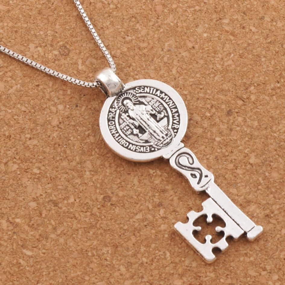 ΞCruz de la medalla del Santo Benedicto smqlivb clave religioso ...