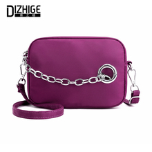 DIZHIGE Brand Fashion Waterproof Nylon Women Shoulder Bag High Quality Crossbody Bags For Luxury Zipper Messenger New