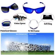 93edcb1f3e Queshark Men Women Polarized Cycling Sunglasses TR90 UV400 HD Sports  Goggles Racing Bike Bicycle Glasses Fishing Hiking Eyewear