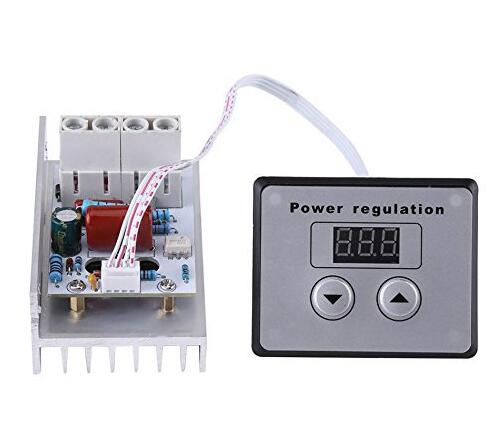 AC 220V 10000W 100A SCR Voltage Regulator Speed Control Dimming Dimmers Thermostat