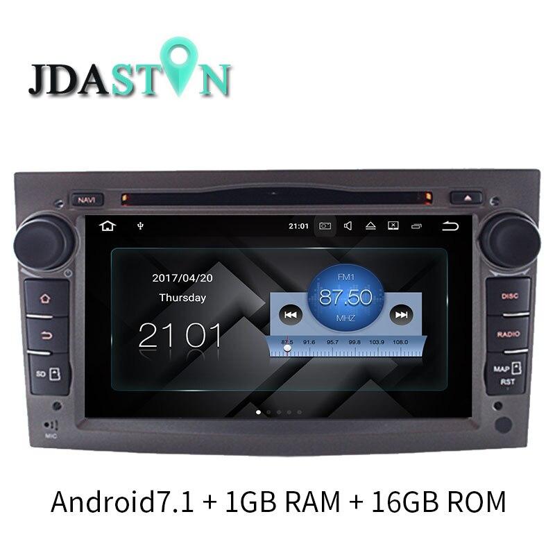 JDASTON ANDROID 7.1 Car DVD GPS Radio Fos