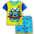 Novas Crianças Dos Desenhos Animados Thomas Pijama Sets Top & Calças da Roupa Do Bebê Pijamas Crianças Pijamas de Manga Curta Menino Meninas Sleepwear Nightwear