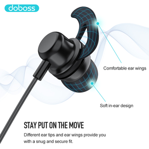 Image 3 - Doboss Bluetooth Earphone Wireless Headphones Headsets Earbuds Neckband Auriculare Magnet For Running Stereo Sound With Mic