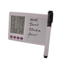Frete grátis, escrito à mão de quatro canais timer de cozinha, display LCD timer de cozinha, alarme do temporizador