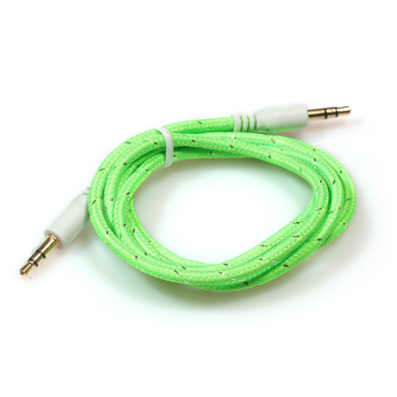 1 шт. 3.5 мм стерео вспомогательный аудио кабель мужчинами для смартфонов A8 ...