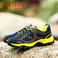 Zhjlut hot venda sapatos homens primavera outono ao ar livre durável não-deslizamento à prova de choque de absorção de sapatos casuais chaussure 506